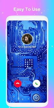 Color call flash- Call screen phone LED flash APK screenshot 1