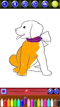 Coloring Book Super Dogs APK screenshot 1