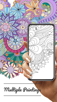 Coloring – Adults' Painting Game! APK screenshot 1