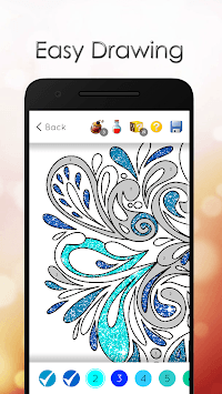 Glitter Color by Number Free Game APK screenshot 1