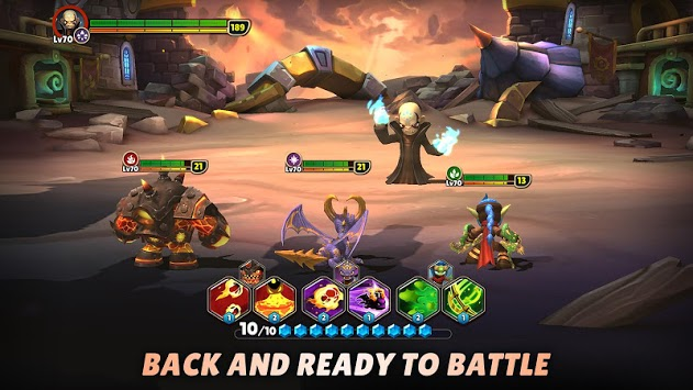 Skylanders™ Ring of Heroes APK screenshot 1
