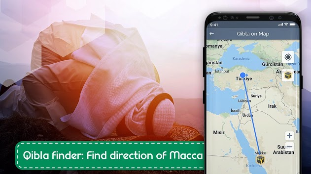 Compass Pro - Accurate Compass App & Qibla Finder APK screenshot 1