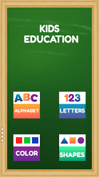 Learn English letters and numbers for children APK screenshot 1