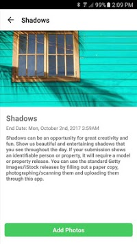 Contributor by Getty Images APK screenshot 1