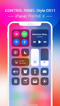 Control Center OS 11: iPanel Phone X APK screenshot 1