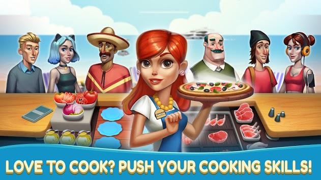 Cooking Games - Fast Food Fever & Restaurant Chef APK screenshot 1