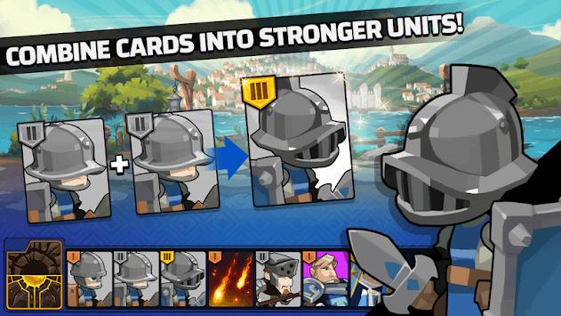 The Wonder Stone: Hero Merge Defense Clan Battle APK screenshot 1