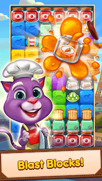 Blaster Chef: Culinary match & collapse puzzles APK screenshot 1