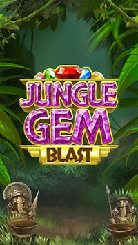 Jungle Gem Blast: Match 3 Jewel Crush Puzzles APK screenshot 1