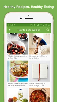 Healthy Eating Meal Plans APK screenshot 1