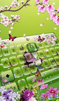 3D Flower Garden Keyboard Theme APK screenshot 1