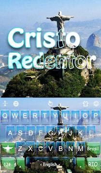 Cristo Redentor Keyboard Theme APK screenshot 1