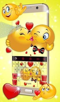 Cute Emoji Keyboard Theme APK screenshot 1