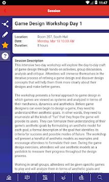 Game Developers Conference APK screenshot 1