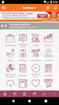 SIR Meetings APK screenshot 1