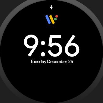 Pixel Watch face - Minimal pixel style watch face APK screenshot 1