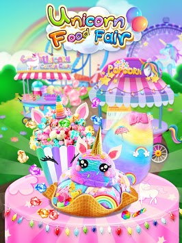 Carnival Unicorn Fair Food - The Trendy Carnival APK screenshot 1