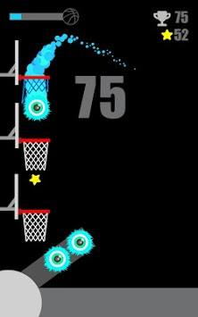 Basket Wall - Bounce Ball & Dunk Hoop APK screenshot 1