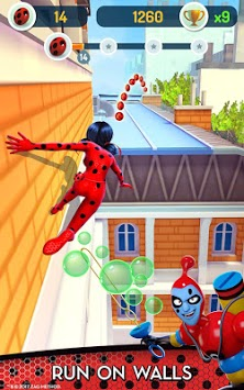 Miraculous Ladybug & Cat Noir - The Official Game APK screenshot 1
