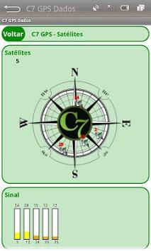 C7 GPS Dados APK screenshot 1