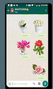 WAStickerApps - Flowers APK screenshot 1
