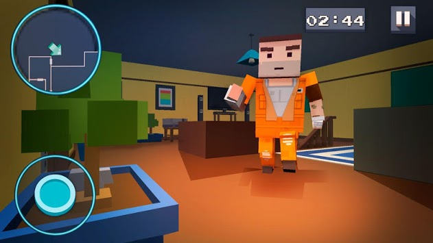 Mystery Neighbor - Cube House APK screenshot 1