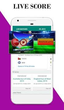 IPL 2019 - IPL Live Cricket Tv,Score,Schedule,T20 APK