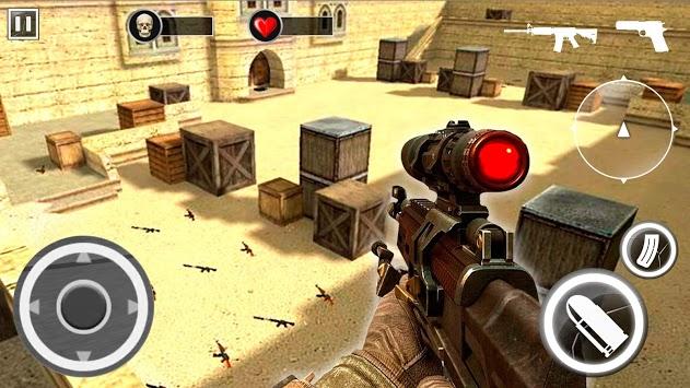 Desert Critical Black Ops - Brave Soldier FPS APK screenshot 1