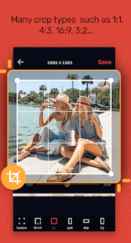 Crop video: Video cut & Video resizer APK screenshot 1