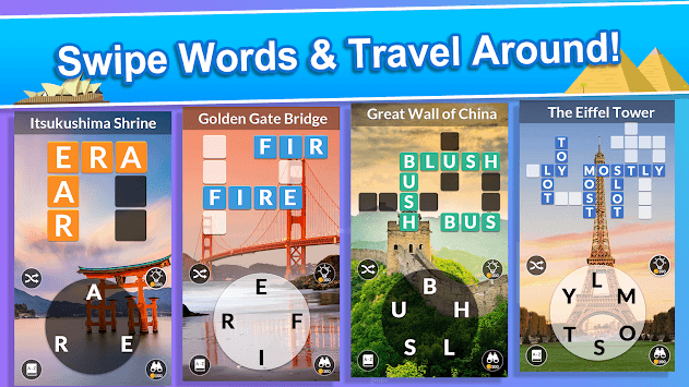 Word Tour -  World Landscapes & Wonders! APK screenshot 1