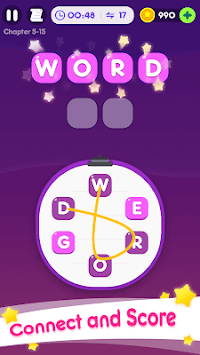 Word Go - Cross Word Puzzle Game APK screenshot 1
