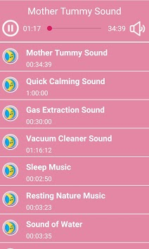 Colic Lullaby Sounds APK screenshot 1