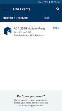ACA Events APK screenshot 1