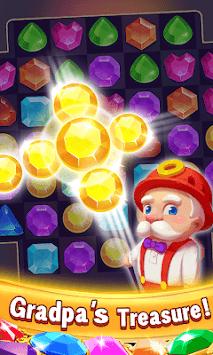 Jewels Classic -  Match Free Games APK screenshot 1