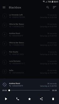 Call recorder APK screenshot 1