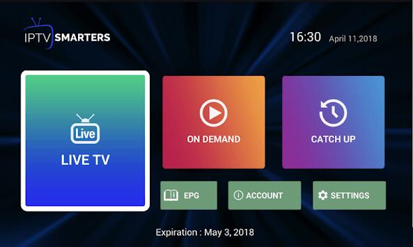 CRYSTAL CLEAR IPTV BOX APK screenshot 1