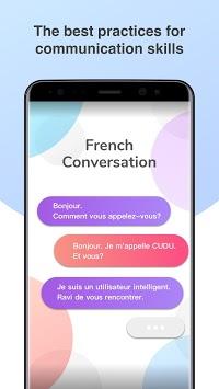 French Conversation Practice - Cudu APK screenshot 1