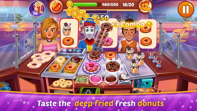 Chef City : Kitchen Restaurant Cooking Game APK screenshot 1
