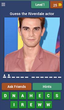 Riverdale: Guess The Character APK screenshot 1