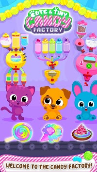 Cute & Tiny Candy Factory - Sweet Dessert Maker APK screenshot 1