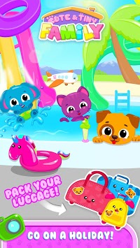 Cute & Tiny Family - Baby Care, Holiday & Farm Fun APK screenshot 1