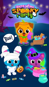 Cute & Tiny Spooky Party - Halloween Game for Kids APK screenshot 1