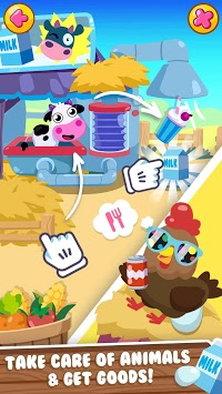 Little Farm Life - Happy Animals of Sunny Village APK screenshot 1
