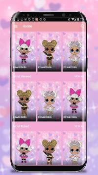 Best Cute Surprise Lol Dolls Wallpaper APK screenshot 1