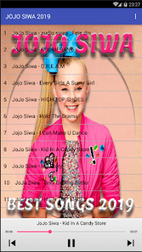 NEW JOJO SIWA SONGS OFFLINE APK screenshot 1