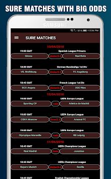 SURE Betting Tips - Predictions Foot APK screenshot 1