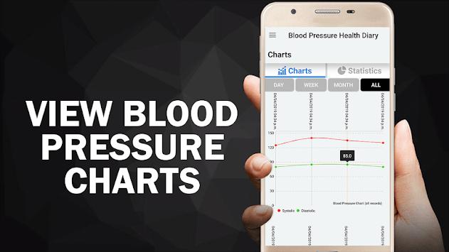 Blood Pressure Diary : BP Logger Scan Test Tracker APK screenshot 1