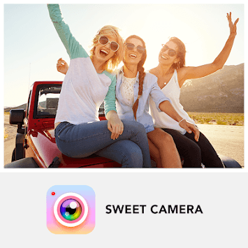 Sweet Camera - Selfie Filters, Beauty Camera pc screenshot 1