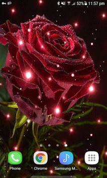 Magical Rose Live Wallpaper APK screenshot 1