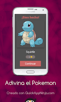 Adivina el Pokemon APK screenshot 1